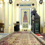 "Moscheea ""Carol I"", interior"